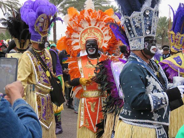 Zulu Warrior 2  Mardi Gras Art | DocSaundersPhotography