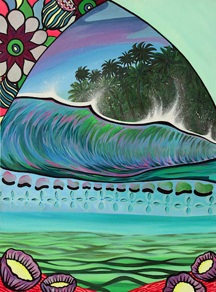 Lahaina Art Gallery features Island Art by Shannon O'Connell