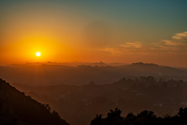 California Sunset - Los Angeles High-Resolution Pictures
