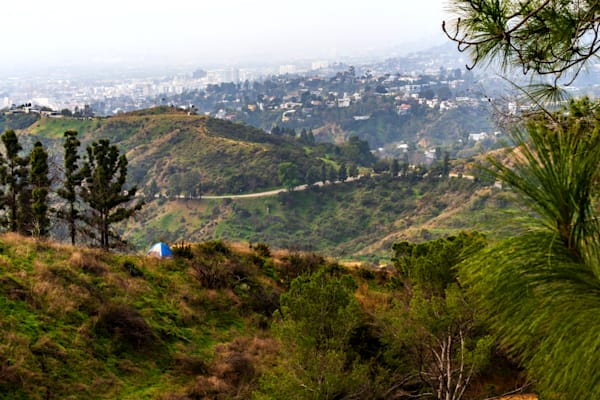 Camping in Los Angeles - Los Angeles California Images