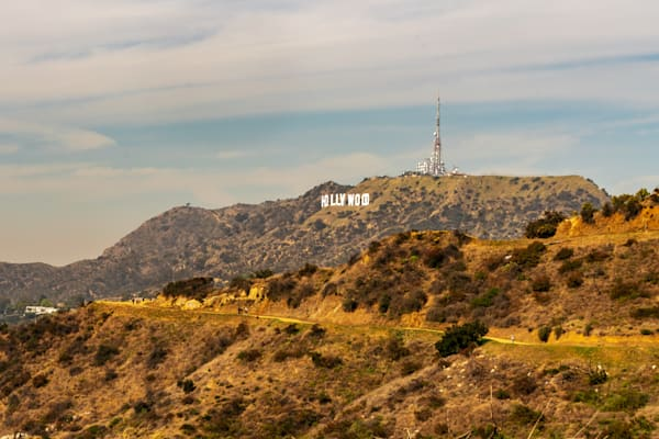 Griffith Park View of the Hollywood Sign - Hollywood Sign Images