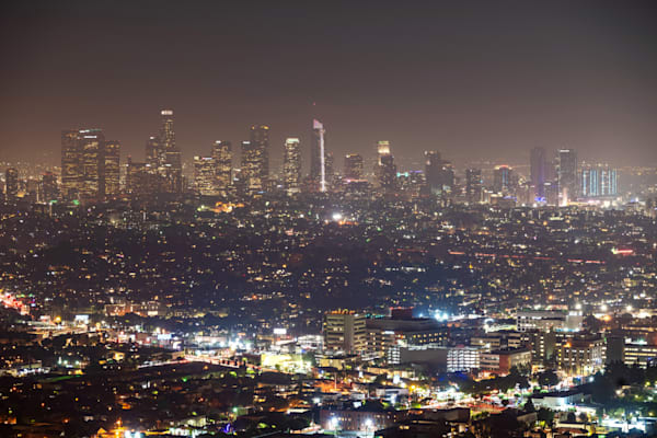Los Angeles Skyline from the Griffith Observatory - Los Angeles Photos