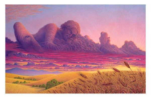 Nubial Bliss 11x17 Ecoprint | markhensonart