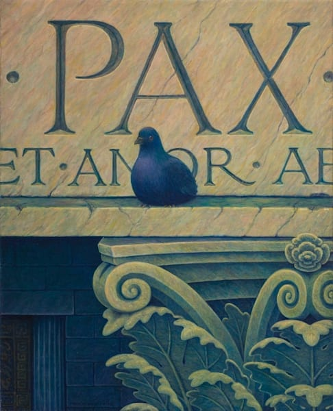 Peace Pidgeon Art   markhensonart