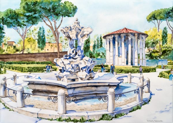 Fountains of Rome Series