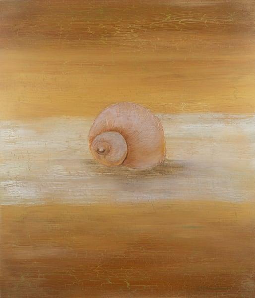 Gold Sea Snail Art | Lindberghaus, Art by Dagi G.