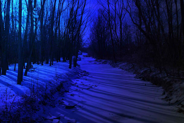 Rouge River Tributary   Blue Omni Art | DocSaundersPhotography