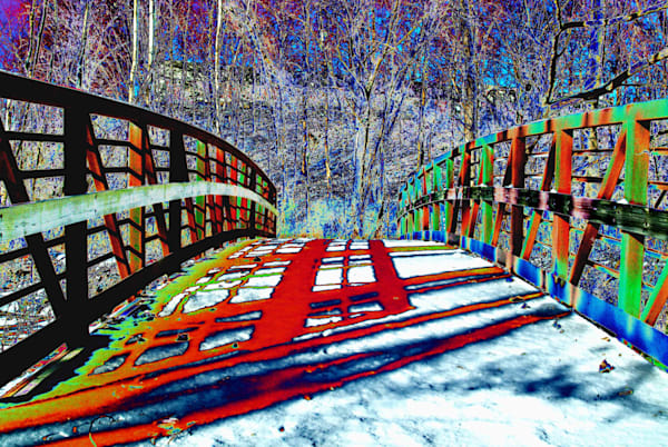 Rouge River Bridge Art | DocSaundersPhotography