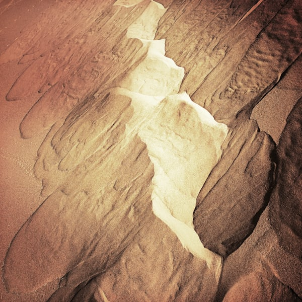 Patterns In The Sand Art   photographicsart