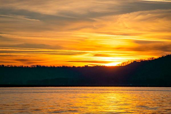 Lake Guntersville sunrise - Alabama fine-art photography
