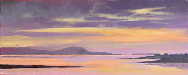 Gower  Sunset Original art