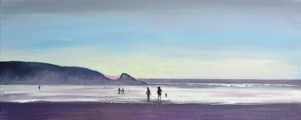 Newgale Pembrokeshire Art Print
