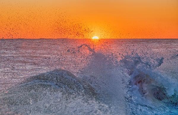 Aquinnah Sunset Wave 2 Photography Art | Michael Blanchard Inspirational Photography - Crossroads Gallery