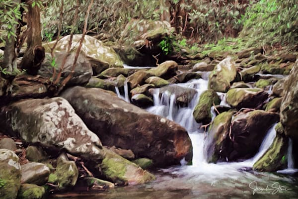 JStoner-deep-smoky-woods-waterfall