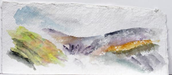 Slieve Mish Mountians   A Sketch Art | David Beale