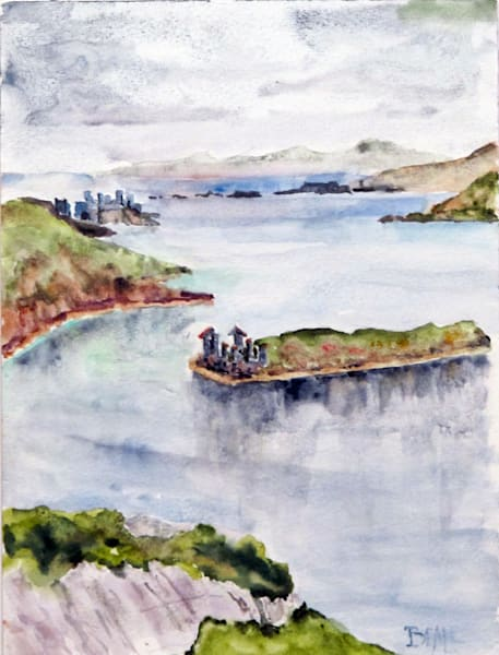 Inishbofin Ruins Art | David Beale
