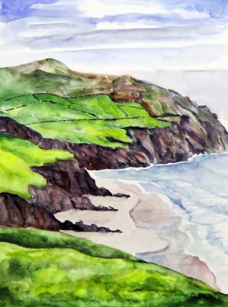 Coumeenole Strand Version 2 Art | David Beale