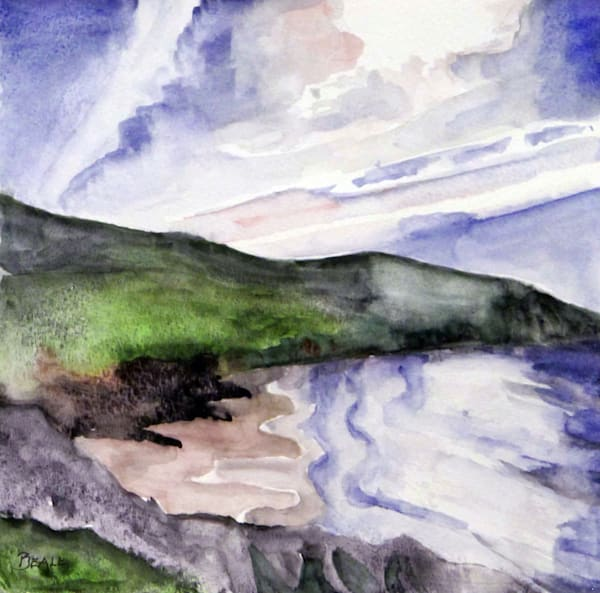 Coumeenole Strand Version 1 Art | David Beale