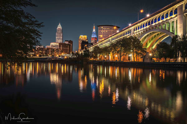 Cleveland At Night Photography Art | Studio 221 Photography