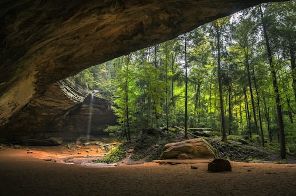 Ash Cave In Hocking Hills Photography Art | Studio 221 Photography