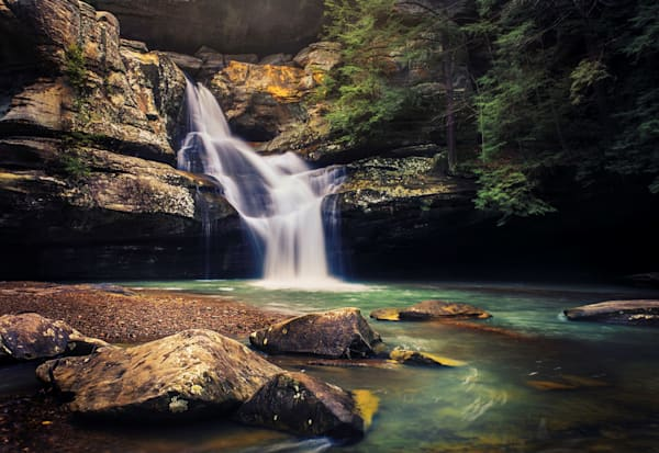 Cedar Falls In Hocking Hills Photography Art | Studio 221 Photography