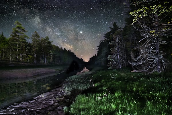 Carrying Place Milky Way Photography Art | Monteux Gallery