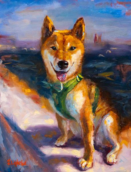 Commission Pet Portrait Art | Jamie Lightfoot, Artist