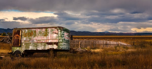 Horse Trailer Photography Art by csgrayphoto