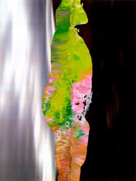 Green 2525 Man Art | Maciek Peter Kozlowski Art