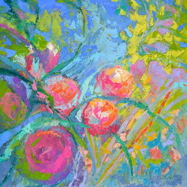 The Rose Garden  Art | Dorothy Fagan Joy's Garden
