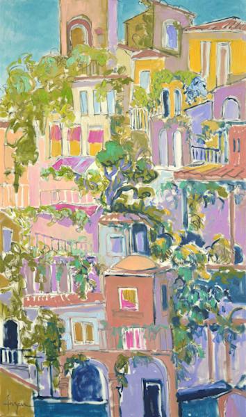 Rooftop Garden Party Ii Art | Dorothy Fagan Joy's Garden