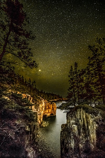Ravens' Nest Night Sky Photography Art | Monteux Gallery