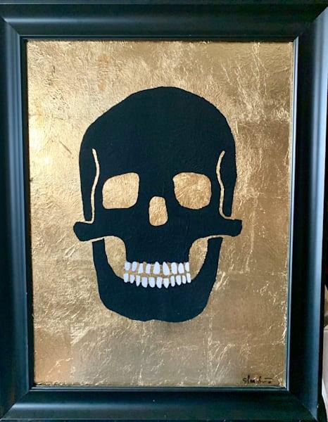 Skull on Gold