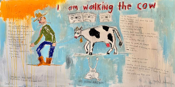 I am Walking the Cow