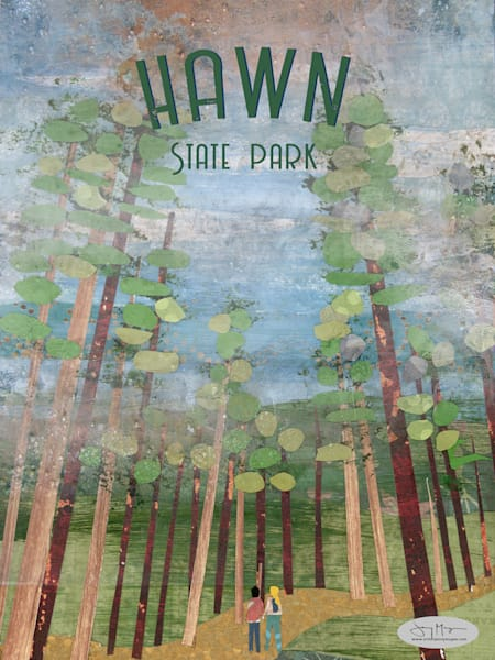 Hawn State Park Art | Jenny McGee Art