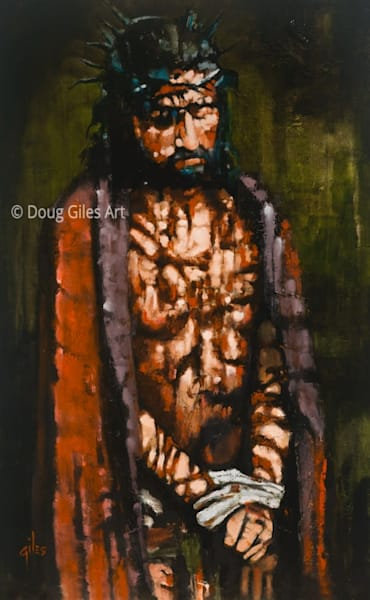 He Was Wounded For Our Transgressions Art | Doug Giles Art, LLC