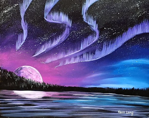 Let's Paint At District 1 Brewing Co. 6 16 20 | Kevin Lang Fine Art