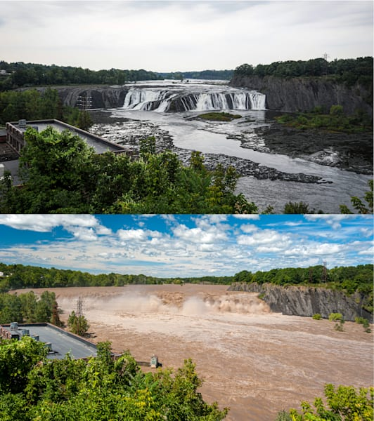 Photography By Festine Cohoes Falls Irene Hurricane