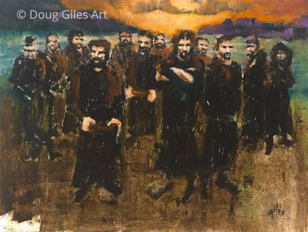 The 12 Art by Doug Giles Fine Art Gallery