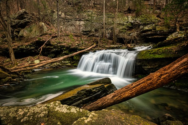 Tumbling down Daniel Creek - Cloudland Canyon fine-art photography prints