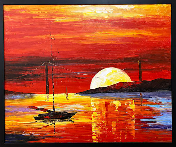 LAfremov-Sunset-at-Golden-Gate-original