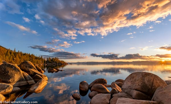 Golden Sunset, Lake Tahoe