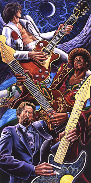 Guitar Trinity  Art | David Spear