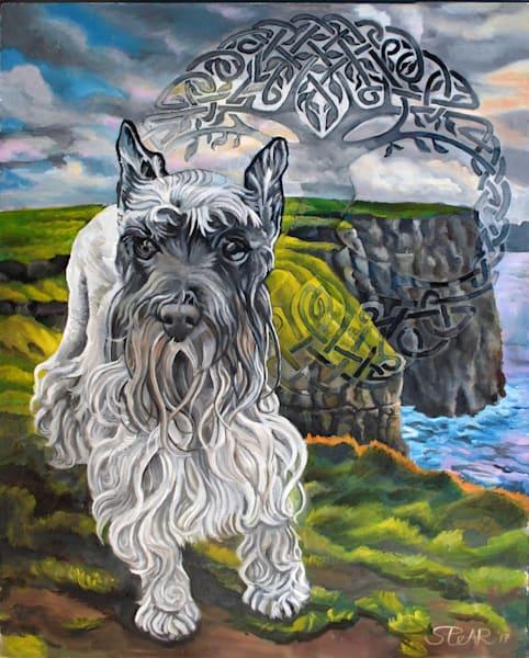 Dog, Painting, Dublin, Spear