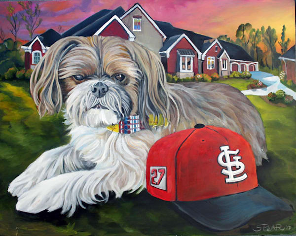 Painting, Dog, Rolen