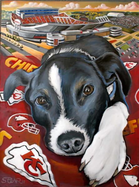 Dog, Painting, BO,
