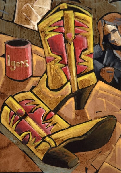 Ellas Boots Art | David Spear