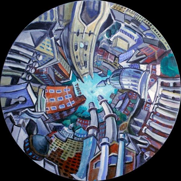 Columbia Round V1 Art | David Spear