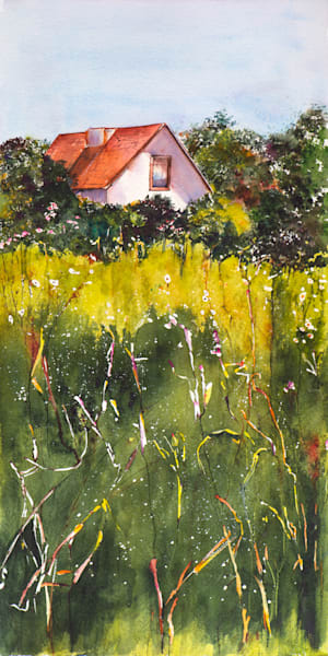 Beneke Homestead, From an Original Watercolor Painting