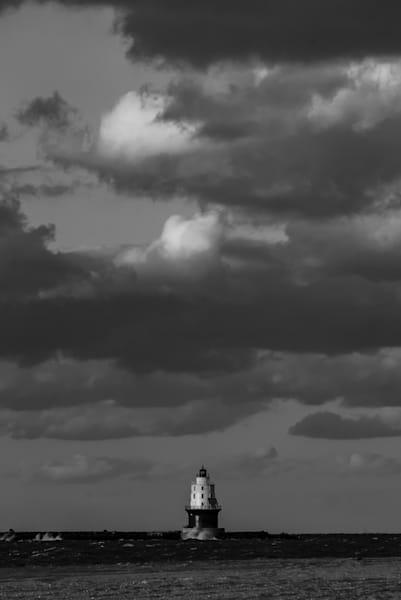 Harbor Of Refuge Lighthouse Cape Henlopen State Park Art | Brandon Hirt Photo